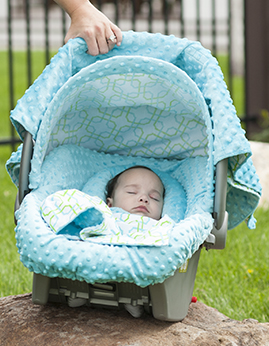 Car seat canopy Hayden whole caboodle