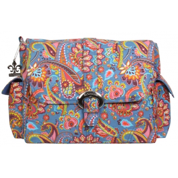 Kalencom Buckle Bag Coated Matte Cassandra Paisley