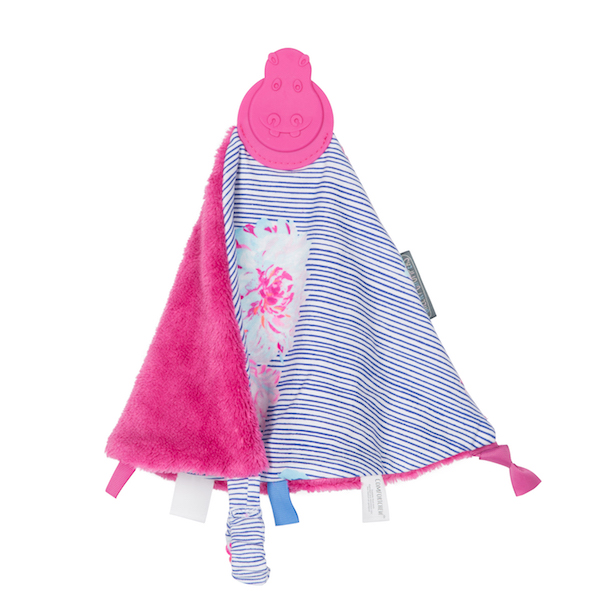 Cheeky Chomper's Comfort Chew- Joules Floral Stripe