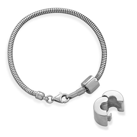 7.5 Sterling Silver 2.8 mm Snake Chain Bracelet