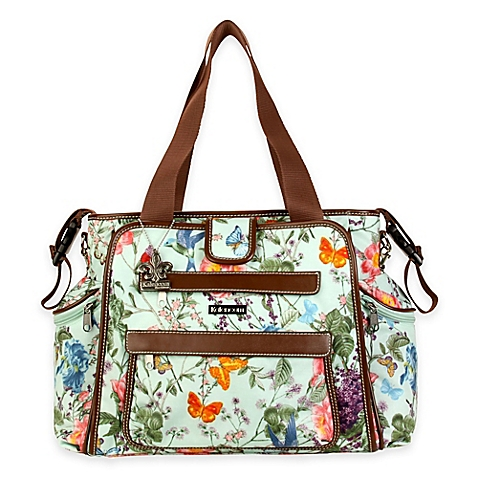 Kalencom Nola Tote Coated Diaper Bag Springtime