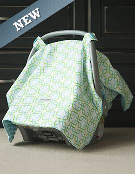 Car seat canopy Hayden whole caboodle & car seat cover