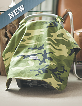 3011f1ef63f Car seat canopy - Hunter whole caboodle. With the Hunter camouflage print  your baby s carrier ...
