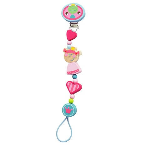 Haba Pacifier Chain Heart princess