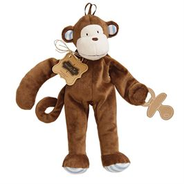 Safari Paci Cuddlers- Monkey