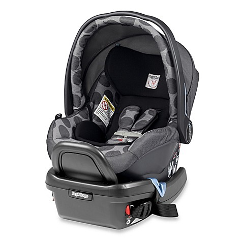 Peg perego Primo Viaggio 4/35Infant Car Seat with Base- Poise Grey
