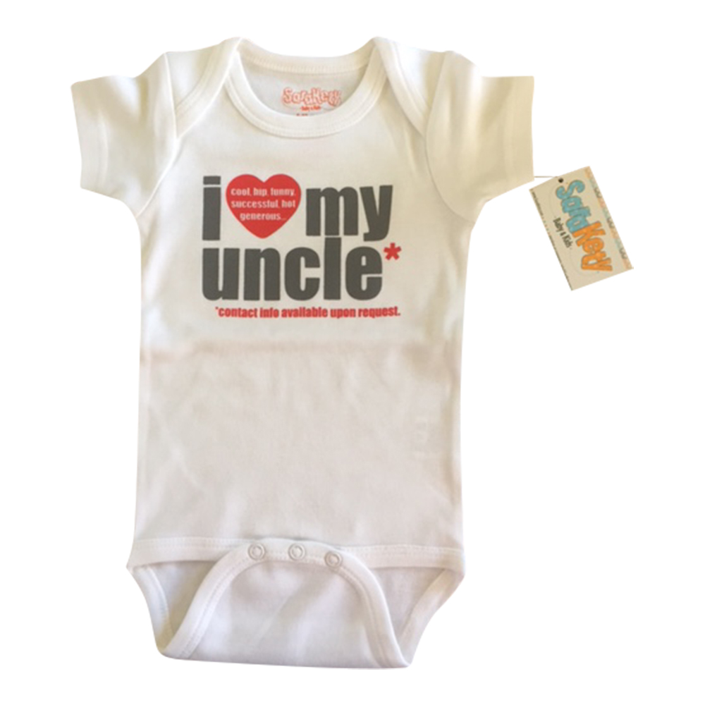 Sara Kety, I Love my Uncle onesie