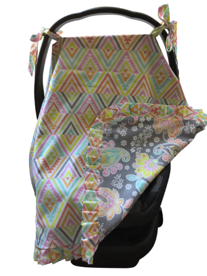 Reversible Car Seat Cover-Sophia