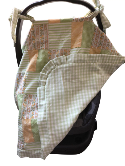 Reversible Car Seat Cover-Josephine