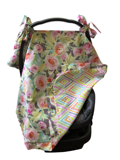 Reversible Car Seat Cover- Sidney